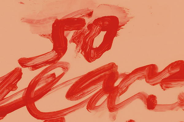"HMF Republishes ""Cy Twombly at the Hermitage"""