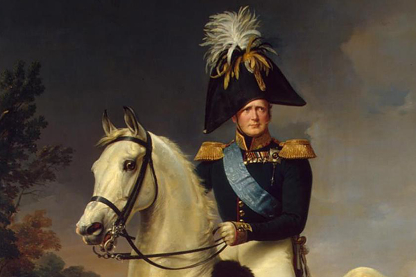 "Restoration of Kruger's ""Portrait of Alexander I"""