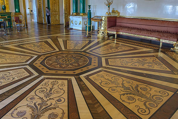 Restoration of Celebrated Parquet Floors